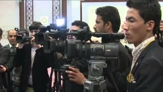 الرئيس الأفغاني يزور الصين بأول زيارة له للخارج