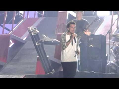 One Direction. Midnight Memories. At&t Stadium. Dallas. 8.24.14 video
