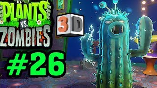 Plants Vs Zombies 2 3D - Hoa Quả Nổi Giận 2 3D: Hoa Xương Rồng Phích Cắm Điện #26