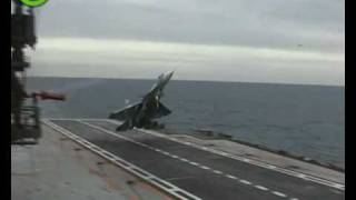 Sukhoi Su-33 Accident High Quality