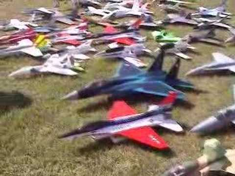 R/C EDF Green Grass E-Jet Rally in kyusyu