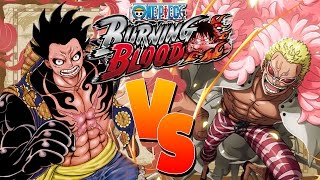 The Battle of Dressrosa, Luffy Vs Doflamingo | One Piece: Burning Blood
