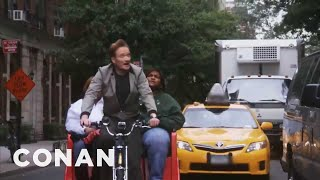 Download Song Conan O'Brien: NYC Pedicab Driver Free StafaMp3