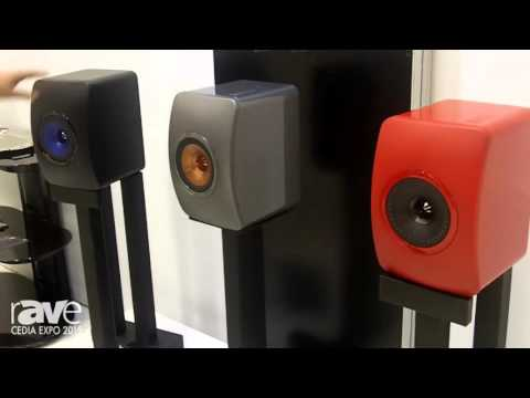 CEDIA 2015: KEF Features Three Special Edition Color Finishes on the LS 50 Speaker