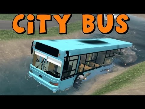 SpinTires   Mod Review   City Bus   Off-Roading   Download Link In Description