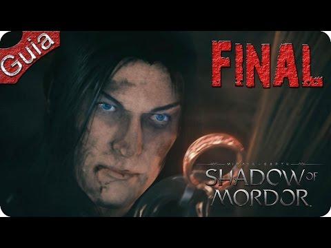 La Tierra Media Sombras de Mordor Final Español PS4