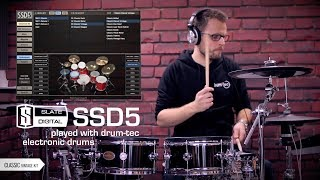 SSD5 triggered with Roland TD-50 & drum-tec electronic drums