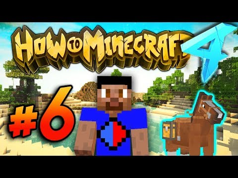 HORSE HUNTING! - HOW TO MINECRAFT S4 #6