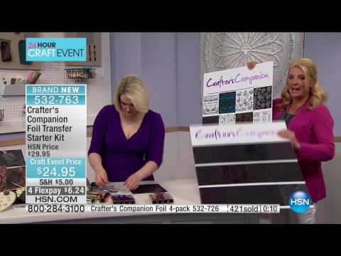 HSN | Crafter's Companion 03.08.2017 - 01 AM