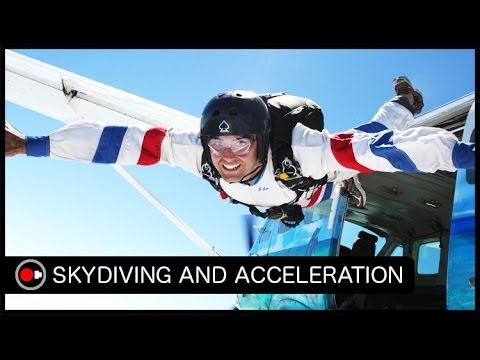When is Acceleration the Greatest in Skydiving? - The Answer