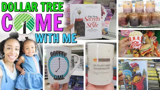 COME WITH ME TO DOLLAR TREE! WATCH TO SEE WHATS NEW IN STORE!