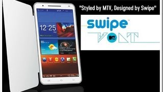 Swipe MTV Volt Dual SIM 3G Android Phablet Review- Features, Benchmarking, Live TV and Performance