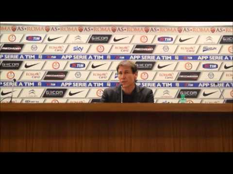 Roma-Sampdoria 0-2  Intervista a Rudi Garcia