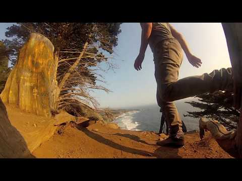 Gopro Hero 3 Vacation Road Trip - Big Sur CA 2013