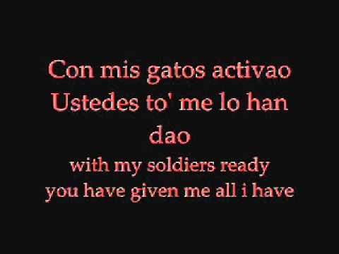Don Omar Ft. Tego Calderon Los Bandoleros With Lyrics video