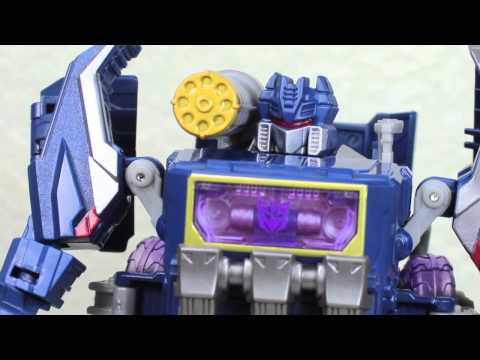 Transformers Generations Fall Of Cybertron Voyager Soundwave & Soundblaster Review
