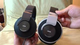 First Look AKG K551 audiophile headphones unboxing