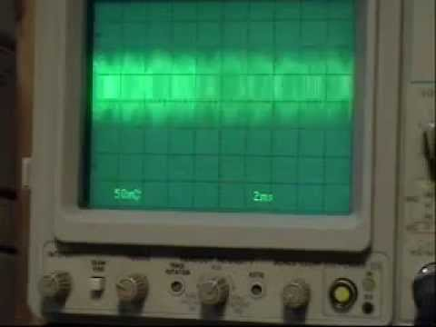 BC-1 Radio - How it Works - Oscilloscope .wmv