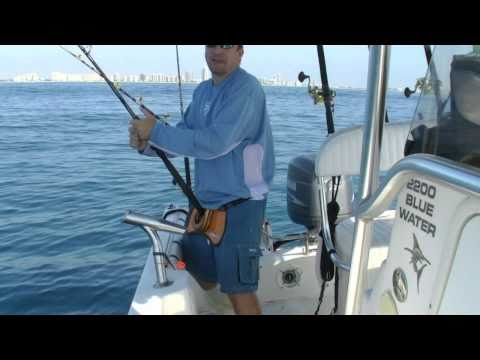 South Florida Fishing. BFT, AJ, Black Grouper, Skip Jack, April 9 2011
