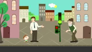 Cruzando la calle | JotaJota quiere aprender seguridad vial