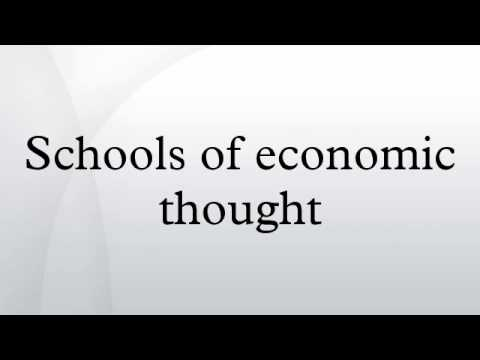 Schools Of Economic Thought - Schools of economic thought - YouTube - Nov 22, 2014 ... Schools of economic thought describes the variety of approaches in the history of   economic thought noteworthy enough to be described as a...