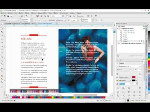 Diseña a tu manera con CorelDRAW® Graphics Suite X7