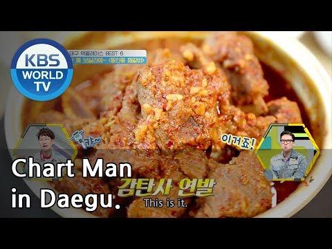 Chart Man in Daegu | 대구를 달리는 남자 [SUB : ENG / 2018.09.17]