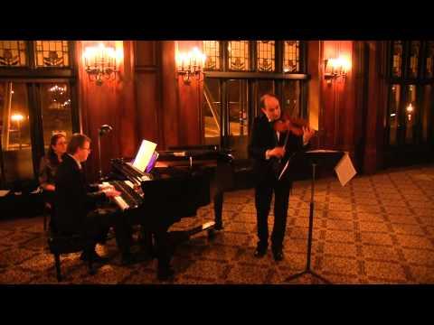 Steven Greene and David Yonan, Grieg Sonata no. 3 in C minor, cont.