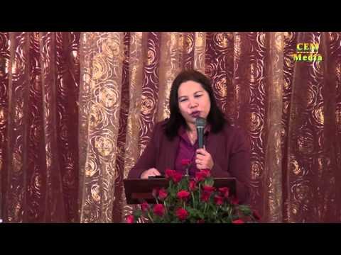Myanmar - CEM Media   Pastor Cathy Message on 4 October 2015