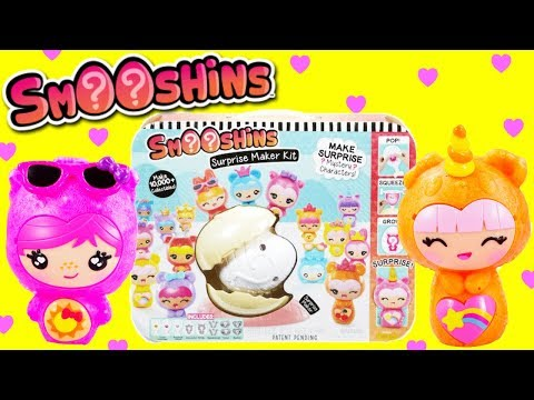 Smooshins Surprise Maker Kit Make Your Own Kawaii Squishies!
