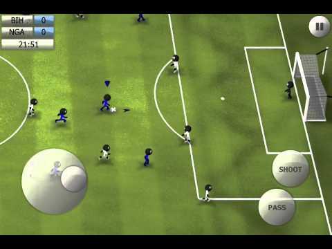 Stickman Soccer 2014 - Bosnia Herzegovina 1 / Nigeria 0