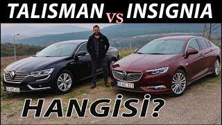 Renault Talisman vs Opel Insignia - Hangisi?