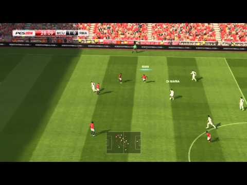 PES 2014 PC - Full Gameplay Footage - Manchester United vs Real Madrid [HD7770 - Full Match]