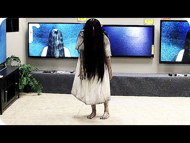 RINGS TV Store Prank 2017 Horror Movie