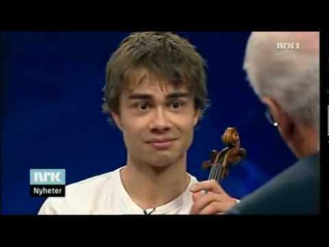 Alexander Rybak Interview - Redaksjon EN - 11.06.09 (English subs) part 2-3