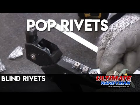 How to use pop rivets