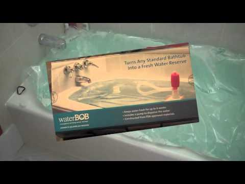 WaterBOB Review-Emergency Water Storage