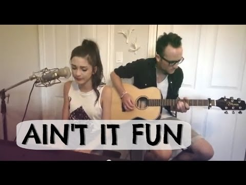 Paramore - Ain't It Fun (Cover by Crystalyne) - YouTube