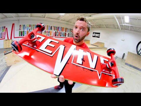 The Reddest Skateboard Ever!
