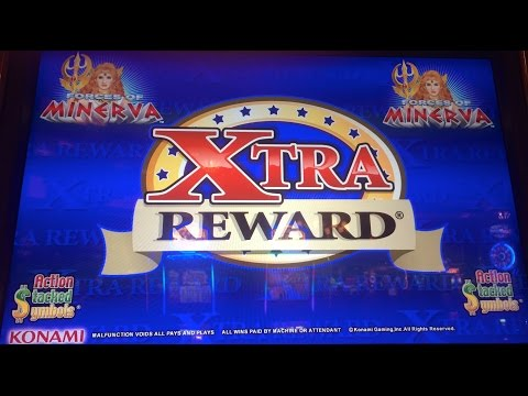 Forces of Minerva Slot Machine Bonus-Big Win-New Slot!-Konami