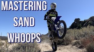 How To Ride Sand Whoops|Dirt Bike Riding Tips