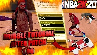 NBA 2K20 ADVANCED DRIBBLE TUTORIAL AFTER PATCH! NEW MOVES & SIGNATURE STYLES WITH HANDCAM