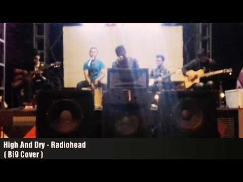 High And Dry - Radiohead ( Bi9 Cover - Live Acoustic at KOMA JUNKYARD )