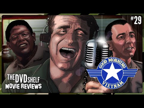 Good Morning Vietnam: The DVD Shelf Movie Reviews [Episode 29]