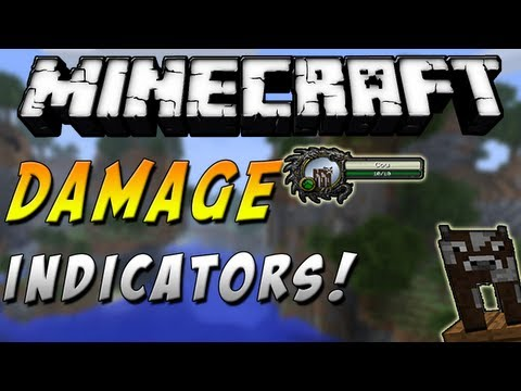 Minecraft 1.6.2 - Review de Damage Indicators MOD - ESPAÑOL TUTORIAL
