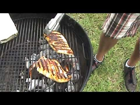 How to Grill Chicken [Part 2 of 4] - Celebrity Grill Showdown #2: JM vs. Whiskey Bent BBQ