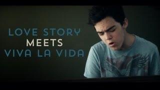 Love Story Meets Viva la Vida (Taylor Swift / Coldplay Mashup) 10 Piano Tracks - Tanner Townsend