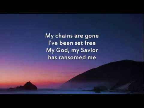 Amazing Grace (my Chains Are Gone) - Instrumental With Lyrics video