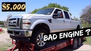 $5,000 2010 Ford F350 - 6.4L Powerstroke! Auction BUY! BAD ENGINE?