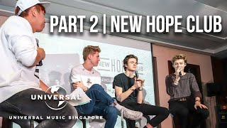 New Hope Club talks tours & gives their impression of Singapore | Part 2